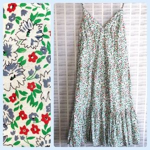 NWT Old Navy Floral Cami Flare Summer Dress